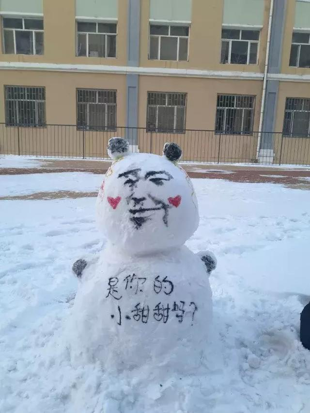 堆个雪人竟然还有人回复,这波操作太6了