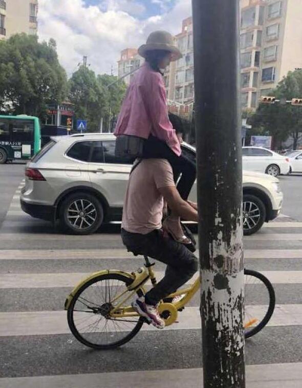 这是滴滴自行车,不过一般不接男士的单