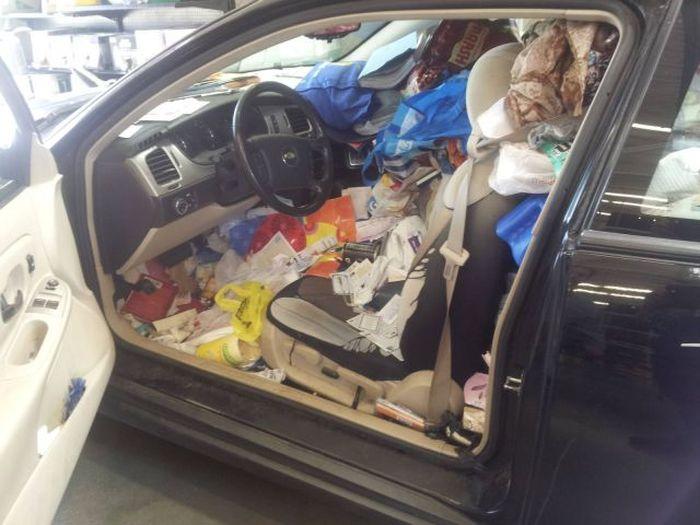 這是在車里干了什么?